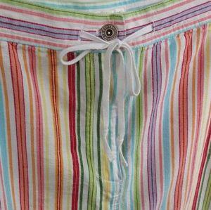Christopher & Banks Skirts - Christopher & Banks Colorful Canvas Skirt Sz 16